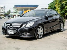 2011 Mercedes-Benz E200 CGI SPORT COUPE 1.8 W207