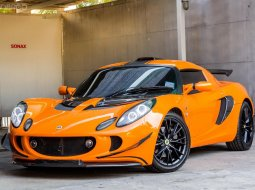 Lotus exige s supercharged โรงงาน 2009 สี chrome orange