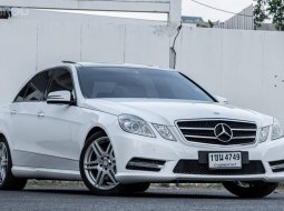 Benz E200 AMG Sport Package (เกียร์ 7 speeds) ปี 2013