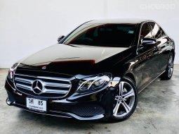 2020 Mercedes-Benz E200D รถเก๋ง 4 ประตู ✨ รถบ้านแท้ 1,000,000% ✨ มือเดียวป้ายแดงออกห้าง