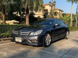 จองด่วน MercedesBenz E250 Coupe CGI 2011 รถสวยออฟชั่นเต็ม