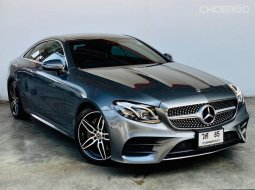Mercedes BENZ E200 COUPE AMG(W238) ปี2018 จด2019