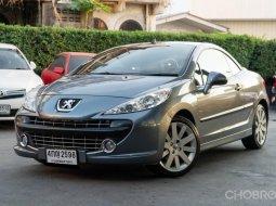 2008 Peugeot 207 cc 1.6 เปิดประทุนไฟฟ้า สภาพป้ายแดง ไมล์น้อย 57,xxx km.