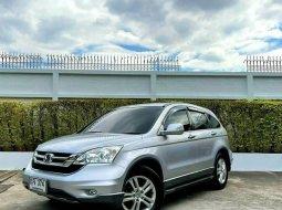 จองให้ทัน HONDA CRV 2.4 EL 4WD topสุด Navi ปี11 สีบรอน์เงิน เบนซิน