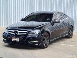 #2012 Mercedes-Benz C 180 CGI Blue EFFICIENCY รถเก๋ง 2 ประตู