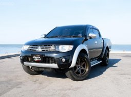 📌Mitsubishi Triton Double Cab 2.5 GLS MT สีดำ เกียร์ธรรมดา ปี 2011