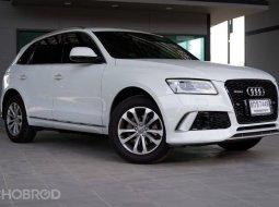 Audi Q5 3.0 TDI 2016 Diesel Quattro AWD เครื่องรุ่นใหม่แล้ว ออกศูนย์ยนตรกิจ ชุดแต่งกันชนของแท้ ไม่ชน