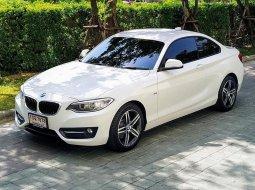 ขายรถ BMW 220i Sport ปี2016 รถเก๋ง 4 ประตู