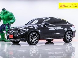 1Q-60 BENZ GLC 250D 2.1 COUPE 4MATIC เกียร์ AT ปี 2018