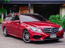 2014 Mercedes-Benz E300 Estate AMG Sport รถเก๋ง 5 ประตู