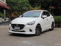 รถมือเดียว ไมล์ 65,xxx กม. *จัดไฟแนนซ์ได้เต็ม *ฟรีดาวน์ *แถมประกันภัย 2015 Mazda 2 1.5  XD Sedan