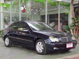 ขายรถ 2001 Mercedes-Benz C180 Kompressor Elegance รถเก๋ง 4 ประตู