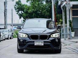 ด่วน  BMW X1 1.8i Sport Line (LCI version 2015) ปี2014 วิ่งเพียง 6x,xxx กม. รถสียอดฮิต ดำ เบาะแดง