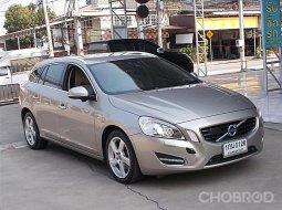 VOLVO V60 1.6 DRIVe ปี12จด13 รถบ้านสวยมือเดียวขับดีตัวรถสวยไม่ชนประวัติศูนย์