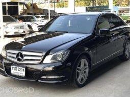 2012 Mercedes-Benz C250 CDI Avantgarde W204 สภาพสวยหายาก มือเดียว ไมล์ 18x,xxx km.