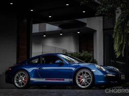 Porsche Carrera S Aqua blue Model year2012 3.8 last NA engine