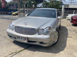 2003 Mercedes-Benz C180 Kompressor Elegance รถเก๋ง 4 ประตู