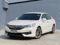 2017 Honda ACCORD 2.0 EL i-VTEC รถเก๋ง 4 ประตู