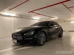 Maserati Ghible 3.0 Grand Lusso sedan at สีดำ ปี 2019
