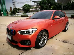 2016 BMW 118i F20 M Sport Hatchback Valencia Orange Metallic