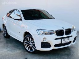 BMW X4 sDrive20d M-Sport (F26) ปี2015 จด2017 สีขาว (ขาว
