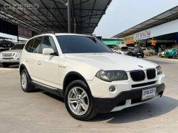 จองด่วน BMW X3 2.0d สีขาว 2008จด2009 มือเดียวสวยพร้อมใช้