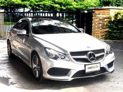 2014 Benz E200 Coupe AMG หลังคาแก้ว รถออกศูนย์ Benz Thailand สภาพสวยน่าใช้