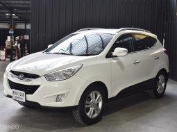 ด่วนห้ามพลาด Hyundai Tucson 2.0 (4WD) ปี 2012 สีขาว เครื่องดีเซล เบาะหนัง ปุ่มมัลติฟังก์ชั่น ปุ่มสตาร์ท สวยสุด  ไมล์น้อย 9x,xxx km
