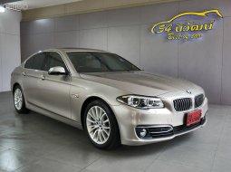 BMW ACTIVE HYBRID 5 LUXURY 3.0 ปี2014 สีน้ำตาล AT HYBRID+เบนซิน