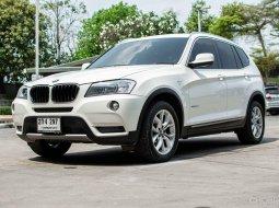 2013  BMW X3  (ปี 10-16) 2.0 Drive20D Highline A/T สีขาว
