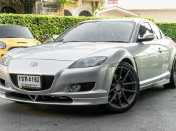 จองให้ทัน Mazda RX8 2004 4spd สีเงิน รถสวยจัดพร้อมใช้