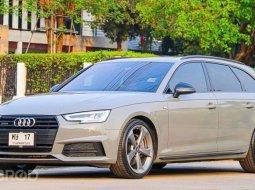 Audi A4 Avant 45Tfsi Quattro S-Line Black Edition สีเทาพิเศษNardo Grey วิ่ง 26,xxx กม