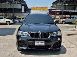 จองด่วน BMW X3 2.0d M Sport HIGHLINE 2017 F25 สีดำ เกียร์ออโต้ ท็อปสุด