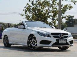 Mercedes BENZ E250 W207 Cabriolet AMG Plus A/T ปี2015