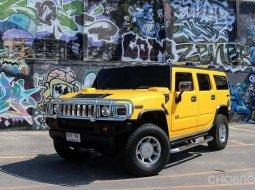 #Hummer #H2 6,000 cc. จดทะเบียนปี 2011 รถสีเหลือง