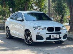 "BMW X4 2.0d M Sport สภาพสวย  มือเดียว ใช้น้อย 37,000 กม."""