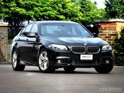 2015 BMW 525D M Sport Lci Twin Power Turbo  รถมือเดียว  รถศูนย์ BMW Thailand เซอร์วิสศูนย์ BMW ทุกระยะ