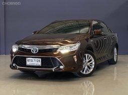 2017 Toyota CAMRY 2.5 Hybrid Navi top สปอร์ตหรูหรา ในราคาเบาๆ จัดไฟแนนช์สบายๆ