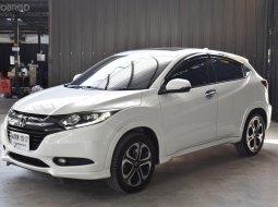 พฤหัส จัดหนัก ห้ามพลาด Honda HV-V 1.8EL ปี 2015 สีขาว รุ่นท๊อฟ หลังคาซันรูฟ เบาะหนัง รถสวยรับประกันคุณภาพ