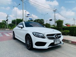 🚩BENZ C250 2.0 COUPE AMG DYNAMIC W205 ปี 2018 สีขาว