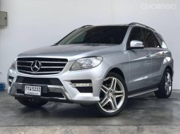 2013 Mercedes-Benz ML250 CDI AMG Sports SUV รถบ้านมือเดียว