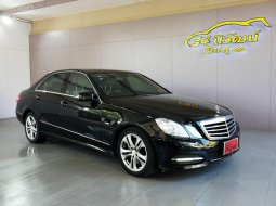MERCEDES BENZ E250 W212 1.8 CGI BE AVANTGARDE 7G-TRONIC 2012 ดำ A เบนซิน