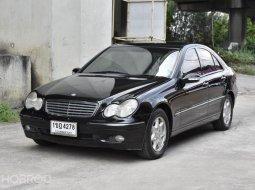 ขายรถมือสอง 2003 Mercedes-Benz C180 Elegance Sedan AT