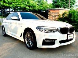 BMW 520d M-Sport G30 2018 รถมือเดียวออกศูนย์ BMW  ไมล์เพียง 39,600 KM.