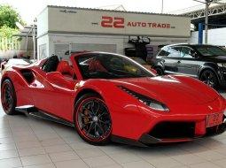 รถสปอร์ตหรู รถหรู supercar ซุปเปอร์คาร์ Ferrari 488 Spider เปิดประทุน สภาพป้ายแดง  ชุดแต่งจัดเต็ม