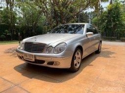 2004 Mercedes-Benz E200 Kompressor ไมล์ 159,xxx km.