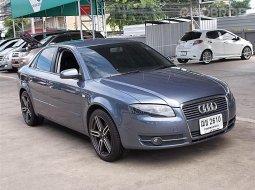 ปี08 เครื่องดีเชล Audi A4 2.0 TDI ตัวรถสวยขับดีไม่มีอุบัติเหตุเล่มพร้อมโอน