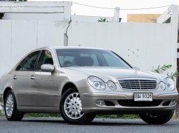 2004 Mercedes-Benz E220 CDI รถศูนย์ ไมล์ 17x,xxx km.