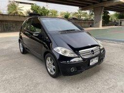 2008 BENZ A170 AVANTGARDE W169 สีดำ รถสวยน่าใช้ ไม่ติดแก๊ส ขับดีขายไม่แพง