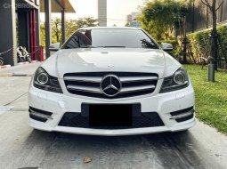 2011 Mercedes-Benz C180 Coupe AMG ไมล์ 8x,xxx km. ขาวเบาะแดง ออพชั่นเต็ม